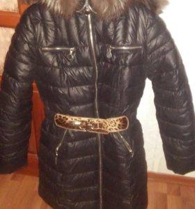 Пальто зима пуховик
