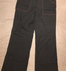 Болоневые утеплённые штаны