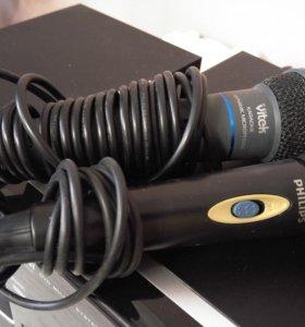 Микрофоны vitek philips