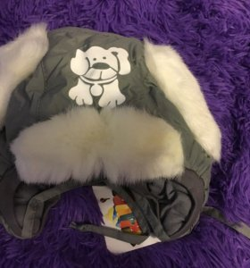Детская шапочка на зиму