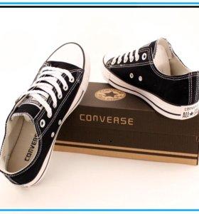 Кеды Converse low чёрные