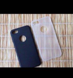 """Чехол для iPhone 7 """" с Окошком """""""