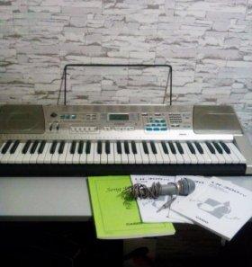 Синтезатор casio lk-300tu