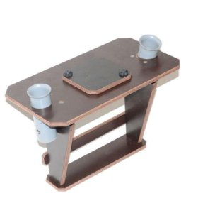 Столик для эхолота с держателями для спиннинга №3