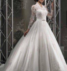 Шикарное свадебное платье Love Bridal