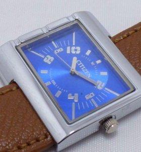 Кварцевые часы citizen electric blue