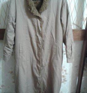 Пальто 50-52размер