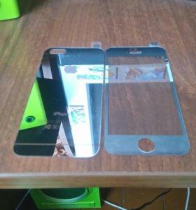Стёкла зеркальные на IPhone 5, 5s