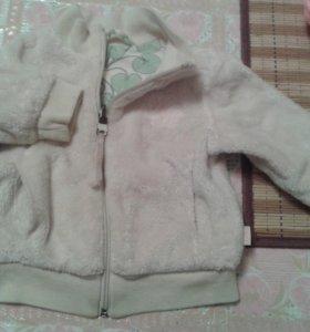 Меховая курточка для девочки.