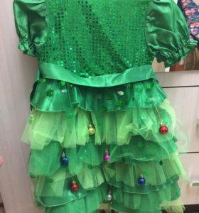 Платье елка