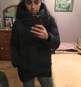 Зимняя куртка-пуховик, очень красивый и теплый