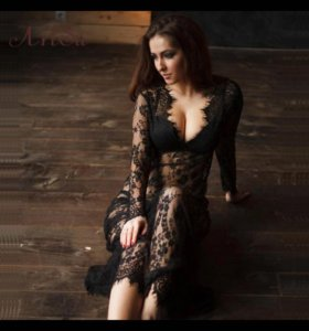 ✔️Ажурное платье