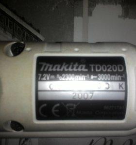 """Аккумуляторная отвертка ,,Makita"""""""