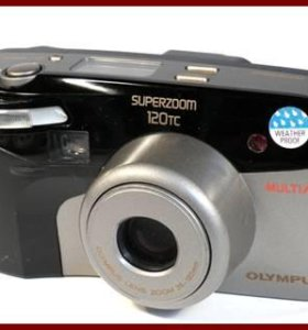 Фотоаппарат аналоговый Olympus SUPERZOOM 120TC.