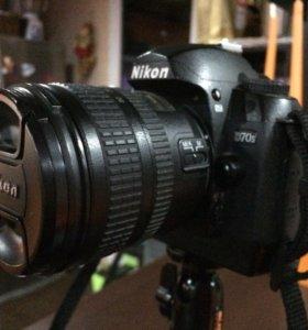 Nikon D70S Kit 18-70mm