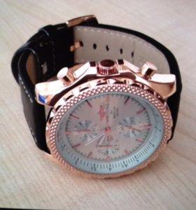 Часы Breitling. Кварцевые часы. Отличное качество!
