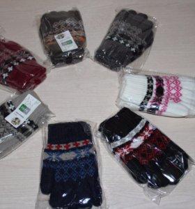Новые зимние перчатки
