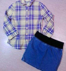 Одежда для девочки  8-10 лет