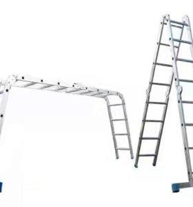 Лестница 4-х секционная/4х4 ступени