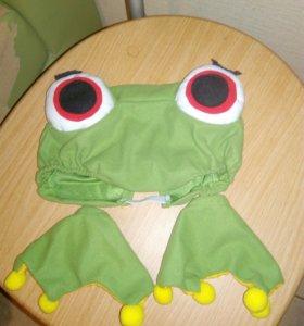 Шапочка и лапки лягушки