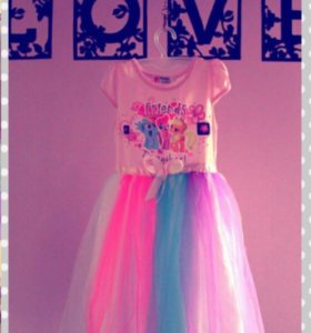 Милое детское платье