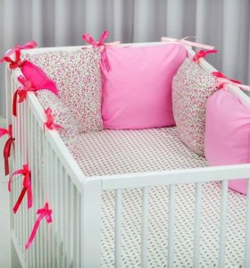 НОВЫЕ бортики в детскую кроватку
