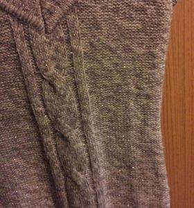 Платье зимнее теплое вязанное incity