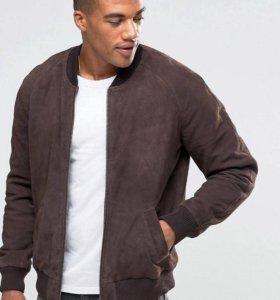 Куртка из натуральной замши новая
