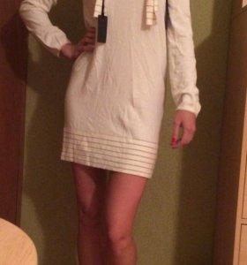 Туника/Белое платье/Черное