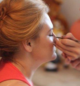 Услуги визажиста, макияж