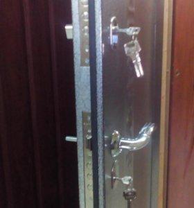 Новая входная дверь