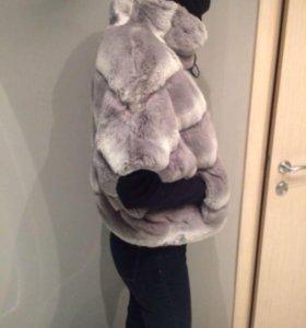 Меховая куртка из кролика