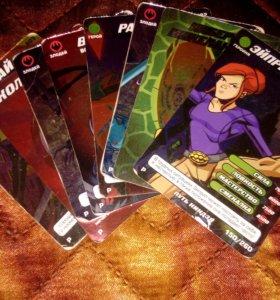 Карточки: Черепашки ниндзя