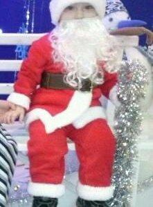 Детский новогодний костюм санты