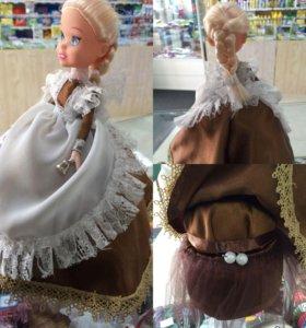 Кукла-шкатулка, украшение для дома своими руками