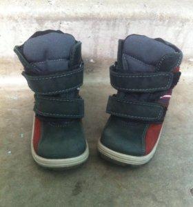 Ботинки зима (натуральная замша и мех )