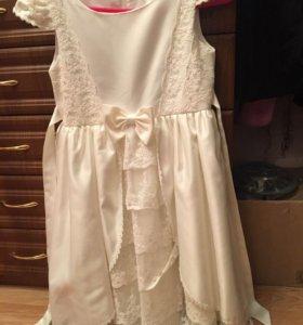 Платье девочке на выпусконой