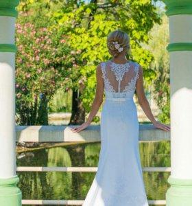 Продам свадебное платье в идеальном состоянии 44 р