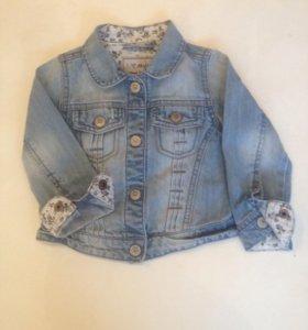 Куртка джинсовая Next