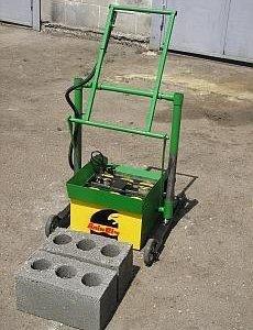 Продам оборудование для производства шлакоблоков