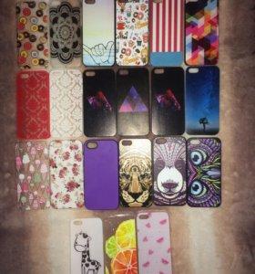 Чехлы на iPhone 5, 5s, 5c