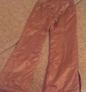 Теплые брюки от горнолыжки б/у