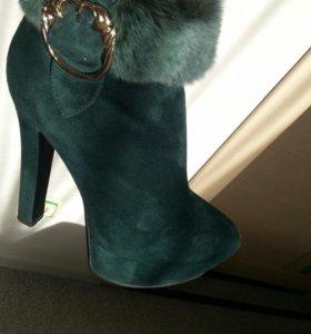 Натуральная зимняя. Женская обувь