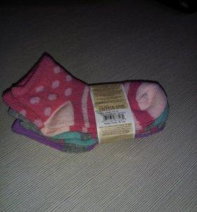 Носки детские carter набор 3 пары