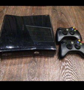 Аренда XBox 360 slim (37 игр) 2 джостика