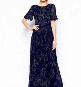 Платье в пол новое вечернее 🌟