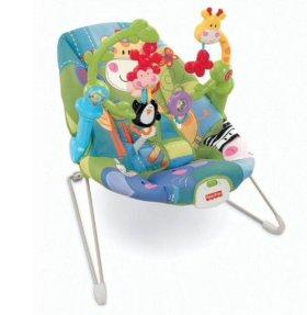 Fisher Price Игровое детское кресло-люлька