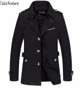 демисезонная новая куртка с подкладкой