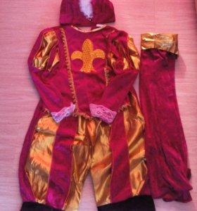 кастюмы новогоднии принца и мушкетера