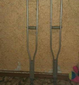 Костыли, регулируются от 125см-155см